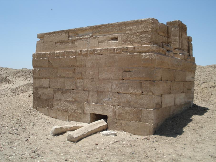 Un tombeau de la nécropole