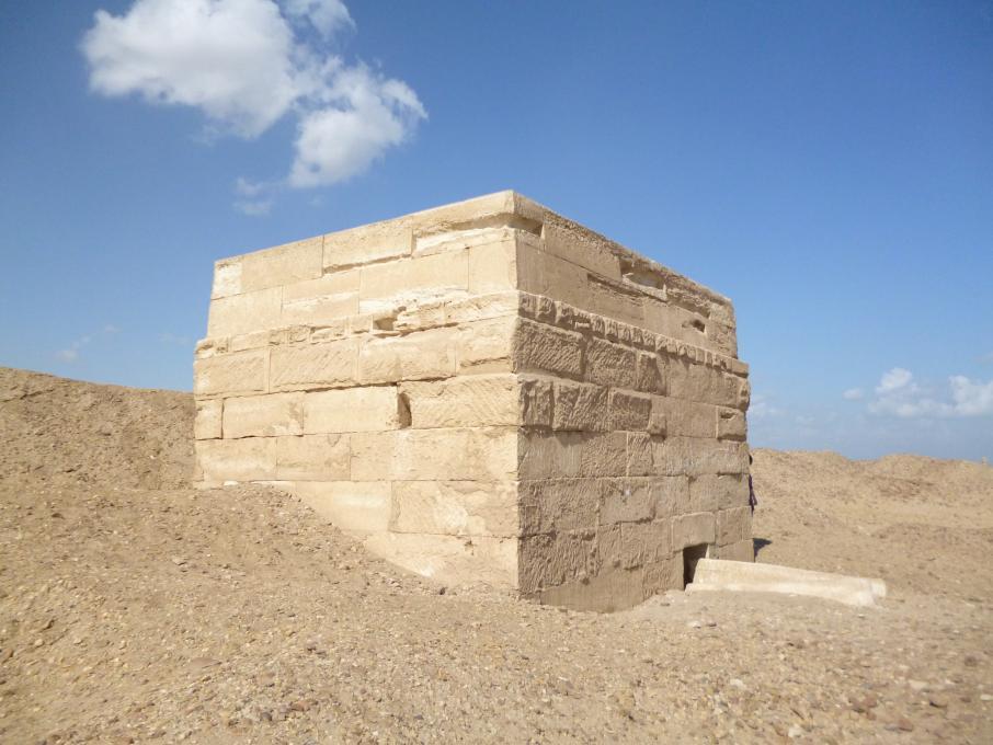 L'un des tombeaux de la nécropole