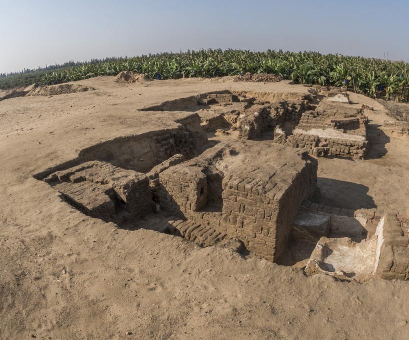 Vue d'ensemble de la nécropole de Térénouthis