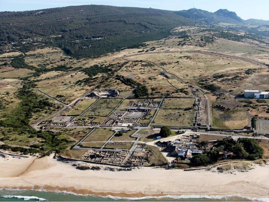 Vue aérienne de Baelo Claudia