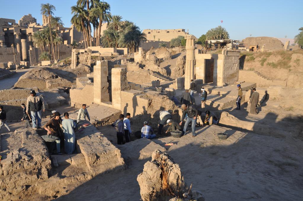 Sanctuaires osiriens de Karnak
