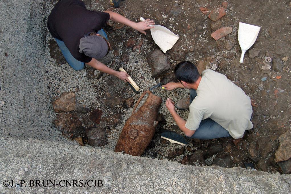 La tannerie de Pompéi en 2006
