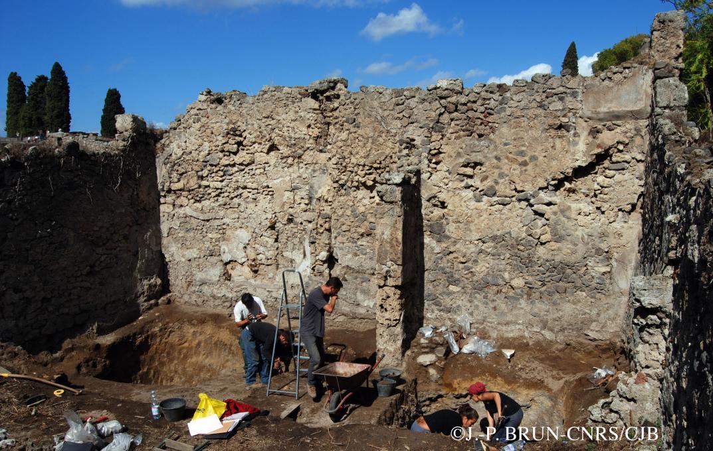 La tannerie de Pompéi en 2007